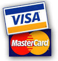 mastercard & visa Logo From TheTapeworks.com