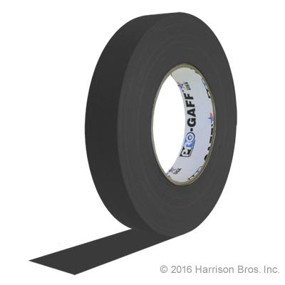 1 inch black gaffers tape
