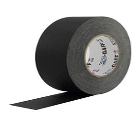 3 inch black gaffers tape