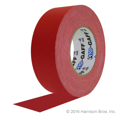 Red Gaffers Tape From TheTapeworks.com